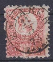 1871 Réznyomat 5kr ZALABÉR ZALA M.