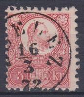 1871 Réznyomat 5kr ZSELÉZ