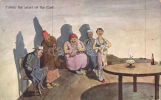 Fatme the pearl of the East, folklore, The Cairo Postcard trust 951-5.