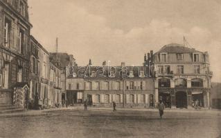 Carignan, shop of Pierrot, shop of Kahn