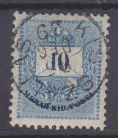 1881 10kr KIS-SZÁLLÁS