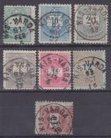 1881-1889 7 klf bélyeg KIS-VÁRDA
