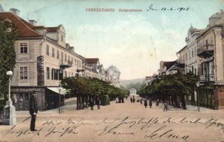 Frantiskovy Lazne, Franzensbad; Kaiserstrasse / street