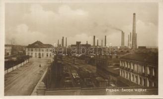 Plzen, Pilsen; Skoda factory