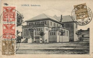 Horice Sokolovna building