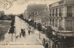 Sartrouville, Avenue de la Republique, Tabac /  Republic avenue, tobacco shop
