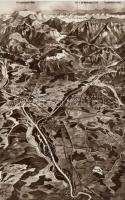 Salzburg-Traunstein map, Salzburg-Traunstein térkép