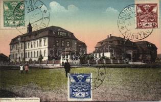 Chomutov, Komotau; Bezirkskrankenhaus / hospital