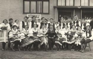 Ivancice, Buffet / folklore group photo