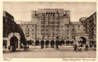 Vienna, Wien V. Margarethengürtel, Reumannhof / hotel