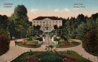 Ljubljana, Laibach; Grad Tivoli / castle