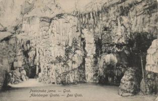 Postojnska jama, Adelsberger Grotte; Grob / cave, grave