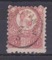 1871 Réznyomat 5kr (G)YERTYÁMOS