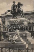 Milano, Milan; Monumento a Vittorio Emanuele / statue