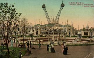 1908 London, Elite Gardens, Franco-British Exhibition