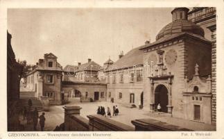 Czestochowa, cloister yard, Czestochowa, kolostori udvar