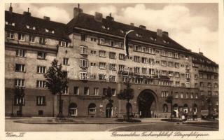 Vienna XII. Fuchsenfeldhof / building, Bécs XII. Fuchsenfeldhof / épület, Wien XII. Fuchsenfeldhof