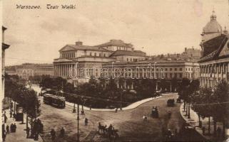 Varsó, Nagy színház, Warsaw, theatre