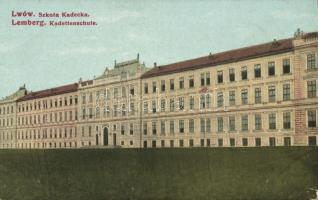 Lviv, Lwów, Lemberg; Szkola Kadecka / military school