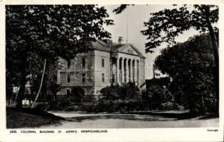 St John´s, Newfoundland Colonial building photo (Rb)