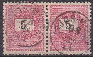 1889 5kr pár LAJOS-MIZSE