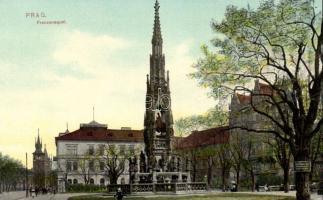 Praha, Prag; Franzensquai / quay