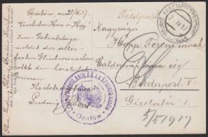 1917 Képeslap EP OPATOW in POLEN