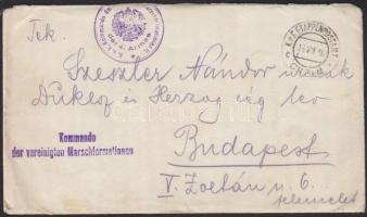 1916 Tábori lap Lengyelországból EP CHELM c