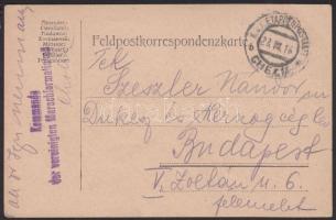 1916 Tábori lap EP CHELM b