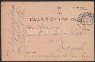 1916 Tábori lap EP CHELM c
