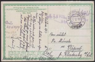 1917 Képeslap Lengyelországból EP CHELM c