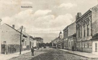 Smederevo, Semendria; street, Szendrő, utca