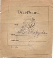 1916 Levélköteg címzés Olaszországból EP 357