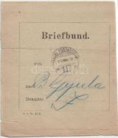 1917 Levélköteg címzés TP 417b- Gyula