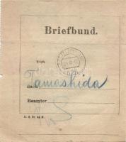 1917 Levélköteg címzés FP 628