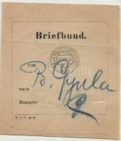 1916 Levélköteg címzés HFP 630