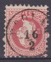 1867 5kr BOGLÁR