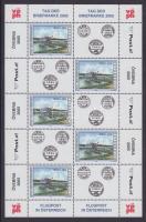 Stamp day mini sheet, Bélyegnap kisív, Tag der Briefmarke Kleinbogen