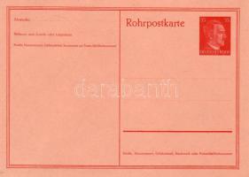 1941 Használatlan díjjegyes csőposta levelezőlap RP 26
