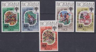 1980 Olimpia Mi 2080a-2084a
