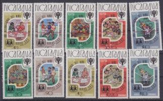 1980 Olimpia Mi 2080a+b - 2084a+b