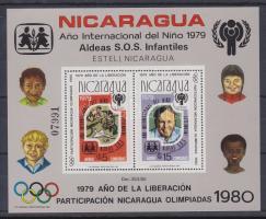1980 Nemzetközi gyermekév, Olimpia blokk Mi 110