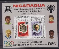 1980 Nemzetközi gyermekév, olimpia blokk Mi 110 A