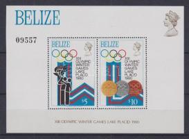 1979 Téli olimpia Mi 443-450 + blokk 12-13