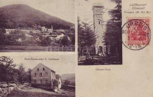 Climont, tower, Hotel and Restaurant Emil Neuhauser
