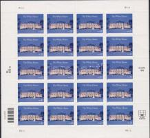 The White House small sheet, A Fehér ház kisív, Weißes Haus, Washington; Kleinbogen