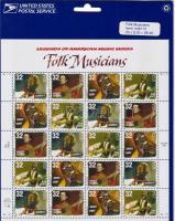 1998 Folk zenészek Mi 2979-2982 kisív