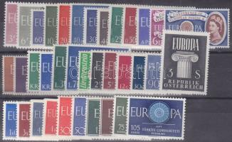 Europa CEPT 1960 teljes évfolyam