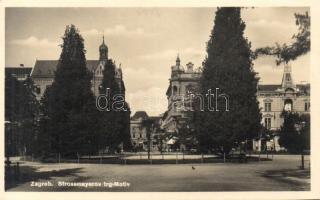 Zagreb, Strossmayer trg. / square