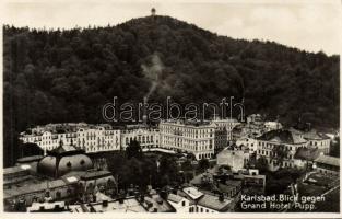Karlovy Vary, Karlsbad; Grand Hotel Pupp